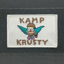 Tactical Outfitters - Kamp Krusty FLAG MORALE PATCH - the simpsons bart clown