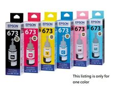 EPSON Ink T6731/T6732/T6733/T6734/T6735/T6736 for L805 L1800 - Choose One Color