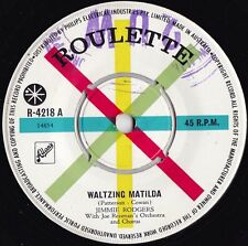 Jimmie Rodgers ORIG OZ 45 Waltzing matilda VG+ '59 Roulette R4218 Country pop