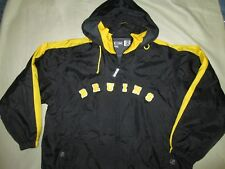 XL MENS BRUINS JACKET,CCM NHL CENTER ICE HOCKEY AUTHENTIC OFFICIAL HOOD BOSTON
