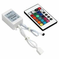 Hot Sale DC 12V 24 Keys IR Box Remote Controller For RGB 3528/5050 Light Strip
