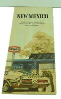 Texaco New Mexico Vintage Car Map Travel Card American Classic Life Vacation