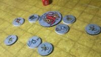 Fantasy 2D Miniatures tabletop RPG tokens NEW handcrafted D&D Dungeons & Dragons