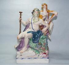 Jugendstil Figur  Martin Wiegand   München   Bacchus und Nymphe   um 1919