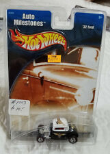 HOT WHEELS Auto Milestones Series '32 Ford Coupe w/ Redline Real Rider Tires