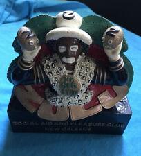 Zulu Mardi Gras New Orleans Ceramic Bust