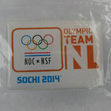 2014 Sochi Winter Olympic Netherland Dated NOC Pin