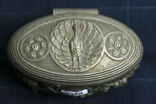 Ancienne boîte à bijoux en métal