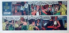 Mary Perkins On Stage by Leonard Starr - early Sunday comic page - June 23, 1957