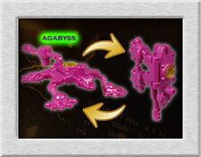 Takara Tomy Transformers Prime Fuchsia Lizard ZAD Arms Micron Gashapon Toy USA