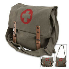 """Rothco 9141 Classic Medic Bag with Red Cross 12 1/2"""" X 11"""" X 3 1/2 O.D."""