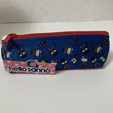 NWT Hello Kitty Sanrio Fabric Pouch Pencil Case Keroppi Chococat