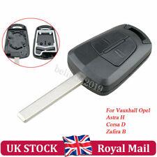 2BTN Remote Key Fob Case Replace For Vauxhall Opel Astra H Zafira B  Corsa Agila