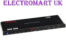 LABGEAR HD2-SP8 8 WAY 1 IN 8 OUT HDMI DISTRIBUTION SPLITTER AMPLIFIER 4K