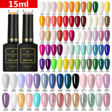 15ml BORN PRETTY Pro -Color UV Gel Nail Polish Glitter Soak Off Nail Varnish
