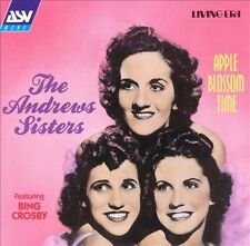 THE ANDREWS SISTERS CD APPLE BLOSSOM TIME 1938 1948 BING CROSBY DANNY KAYE