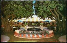 FORT LAUDERDALE FL Terrace Patio Around the World Bar Restaurant Vtg Postcard FT