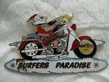 HARD ROCK CAFE PIN/BUTTON SURFERS PARADISE CHRISTMAS 2000