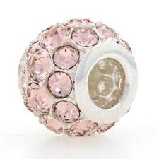 NEW Chamilia Splendor Vintage Rose Charm 2025-1044 Sterling Silver Bead