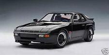 1/18 Autoart 1980 Porsche 924 carrera GT negro culto