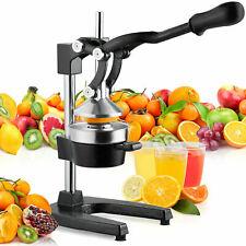 Manual Fruit Hand Press Citrus Juice XL Squeezer Orange Lemon Pomegranate Juicer