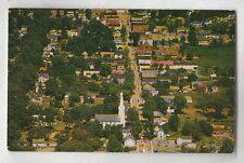 1955 HACKETTSTOWN N.J . AERIAL VIEW OF MAIN ST  PHOTOGRAPHED ON JULY 13, 1955 NM