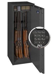Waffenschrank Grad 0 EN 1143-1 mit Zahlenschloss Waffentresor Gun Safe 0-8