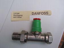 """Danfoss Thermostatventil Durchgang DN 15 1/2"""" neu, ohne Kopf"""
