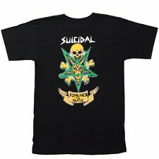 Dogtown X Suicidal Tendencies POSSESSED TO SKATE Skateboard T Shirt BLACK XL