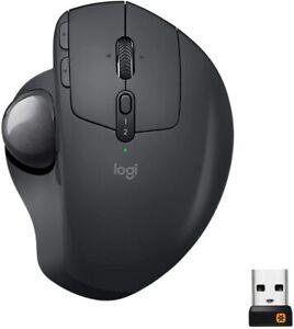 Logitech MX ERGO Advanced Adjustable Wireless Trackball  W/ Accessories