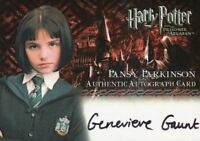 Harry Potter and the Prisoner of Azkaban Update Genevieve Gaunt Autograph Card