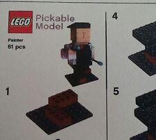 LEGO® Pick-a-brick Modell Maler Neu in OVP mit BA  pickable model Painter