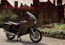 Prospekt brochure GB Norton Commander Motorradprospekt Motorrad broschyr