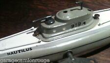 Ressort neuf de remplacement pour sous marin JEP 919 Nautilus & 939 Nucléaire