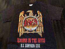 Slayer Seasons Tour Shirt Sz S Exodus Rock Metallica Metal Megadeth Priest Ozzy