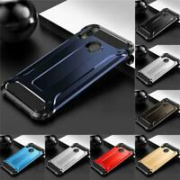 Shock Proof Case For Huawei P Smart 2019 (POT-LX1) Black Dual Layer Phone Cover