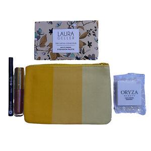 Eye Makeup Lot Laura Geller Eyeshadow Palette Sugar Liner Appeal Liquid Oryza