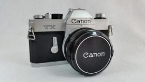 Canon TX SLR Film Camera
