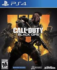 Call of Duty Black Ops 4 (Sony PlayStation 4, 2018) PS4 Brand New. Free Shipping
