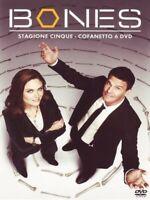 Bones - Serie Tv - Stagione 5 - Cofanetto Con 6 Dvd - Nuovo Sigillato