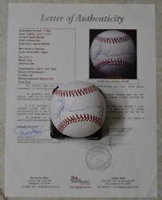 Oprah Winfrey Signed Official MLB Baseball w/ Full Letter JSA LOA #Y01167