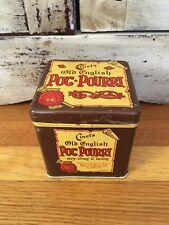 Cinet's Old English Pot Pourri Vintage Advertising Tin Made In England