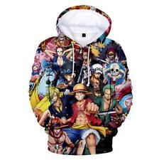 One Piece Luffy Anime Kapuzen Sweatshirt Hoodie Pullover Kapuzenpulli Pulli Coat