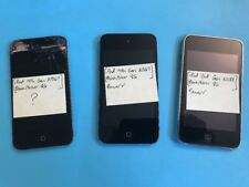(Lot) Apple iPod Touch 4th Gen & 2nd Gen Black (8 GB)
