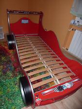 Cilek Autobett Racer rot inkl. Lattenrost mit Schlüssel und Licht 90x190 cm Top!