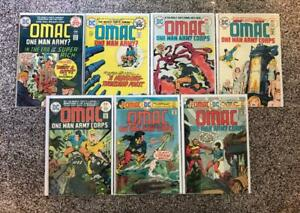 Omac #s 2 3 4 5 6 7 8 Lot High Res Scans Complete 7 Issue Run