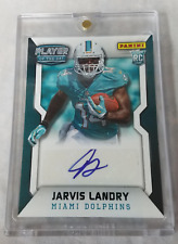 2014 Miami Dolphins Jarvis Landry Panini Player of the Day Rookie Card with Case