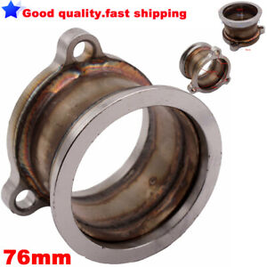 """V-Band Adaptor Turbo Downpipe Adapter Flange 3 bolt T3 to 3"""" V-Band For GT2560R,"""