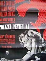 KIRK DOUGLAS + POLIZEI-REVIER 21 + FILM NOIR + DETECTIVE STORY +