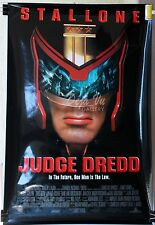 HS Judge Dredd Original Movie Poster 1995